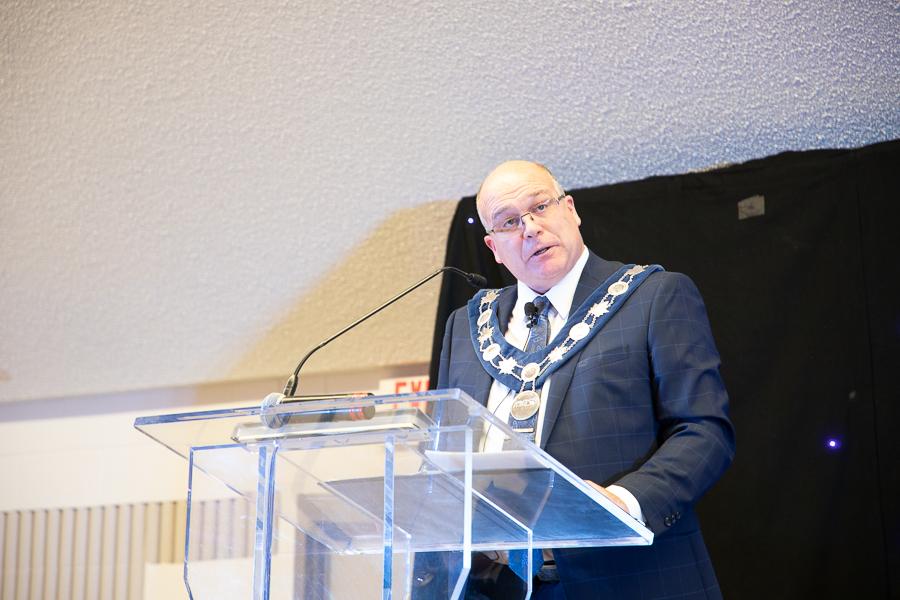 Mayor Allan Thompson